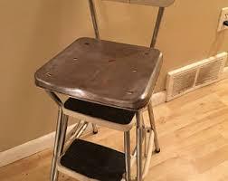 vintage kitchen step stool etsy