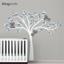 Baby Nursery Decals Aliexpress Com Buy Modern Koala Tree Wall Stickers Nursery