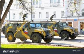 gaz tigr interior yekaterinburg russia may 9 highmobility vehicles stock photo
