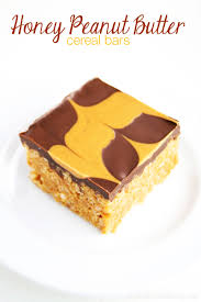honeycomb edible honey peanut butter cereal bars baking