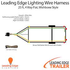4 way flat light connector how wire trailer lights way diagram divine design connector light