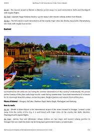best places to visit during summer in india tourism infopedia