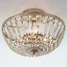 Chandelier Lamp Shades With Crystals Crystal Ceiling Lights Shades Of Light
