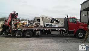 fassi f410a 24 w l414 jib on sterling truck knuckleboom trader