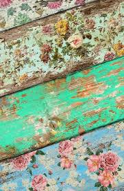 wooden boards with wallpaper take sandpaper shabby chic vic