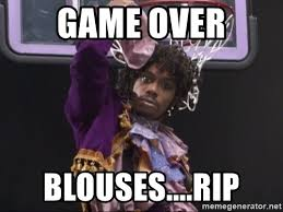 Game Blouses Meme - game over blouses rip dave chappelle prince basketball