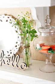 How To Home Decor Spring Decorating Ideas Time To Spring Hello Spring Spring And