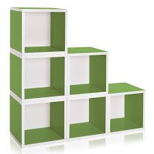 way basics zboard storage fits vinyl records cube unit 15quot
