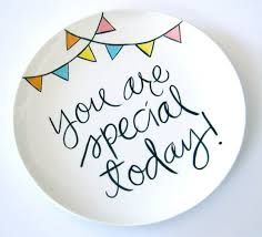 you are special plate pin by crepe on we eat with you