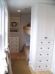turn cupboard and drawers into bed nooks u0026 storage for clothing
