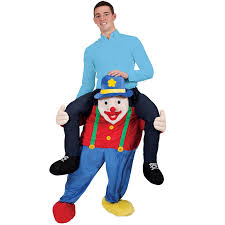 Carrying Halloween Costume Shoulder Carry Piggy Ride Fancy Dress Party