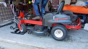 how to change the oil in a troy bilt mustang 50