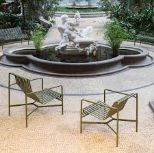 Lifestyle Garden Furniture Palissade Lounge Chair Low By Ronan And Erwan Bouroullec U2014 Haus