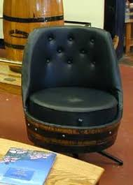 Whiskey Barrel Chairs Tons Of Things You Can Do With Whiskey Barrels I U0027m Obsessed