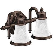 moen yb9864orb waterhill four globe bath light oil rubbed bronze