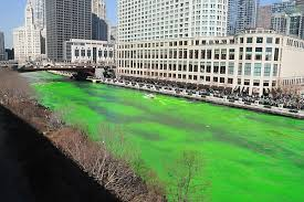 is the dye in the chicago river really green csmonitor com