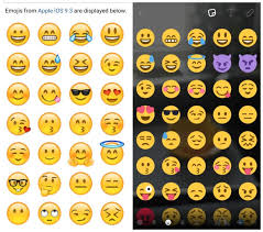 android smileys did just use an iphone to announce android nougat