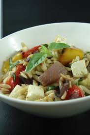 roasted vegetable orzo salad ina garten u0027s arthritis kitchen blog