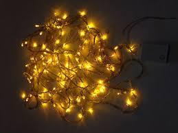 led christmas lights led christmas lights gold exterior 100ft roll 300 led 110v outdoor