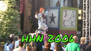 jack clown halloween horror nights hhn sweet sixteen 2006 arrival show jack is back director excerpts