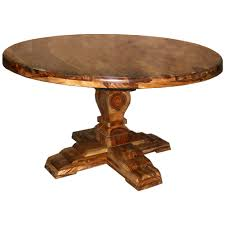 Natural Solid Wood Furniture Round Wood Dining Table 47 With Round Wood Dining Table Home And