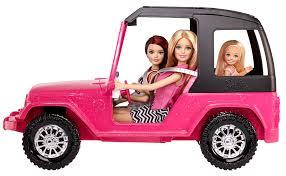 christmas jeep card barbie sisters u0027 cruiser walmart com