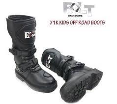 waterproof motocross boots bolt x1k kids motocross quad bike atv race waterproof junior mx