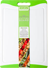 amazon com dishwasher safe large plastic cutting board with non