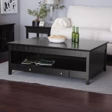 Black Living Room Tables Black Coffee Tables Foter