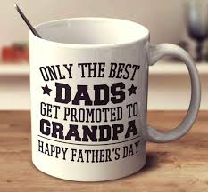great dads get promoted to only the best dads get promoted to s day mug