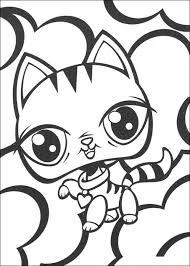 littlest pet shop coloring pages print 37201