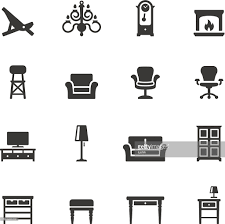 soulico icons home interior vector art getty images