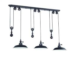Pulley Pendant Light Craftmade P403 Abz 3 Light Pulley Pendant