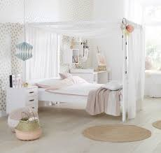 3 Quarter Bed Frame Four Poster Bed With Canopy 3 4 White For Children In S A