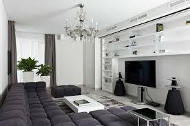 idee deco salon canape noir 75 idées originales pour aménagement de salon moderne salon gris