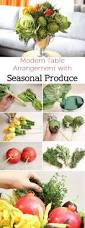 All Natural Flower Food How To Make A Modern Arrangement With Fruits And Vegetables