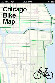 Map Chicago by A Conversation With Steven Vance Developer Of The Chicago Bike