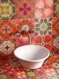 bathroom gallery dramatic tile colorful full size bathroom dominic crinson tile colorful tiles design ideas