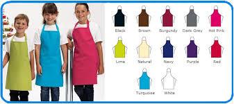 premier brand children s aprons in 12 colours pr149