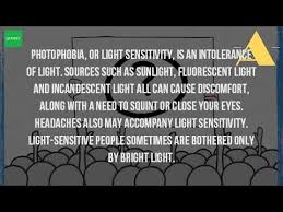 what causes eyes to be sensitive to light what causes eyes to be sensitive to light youtube