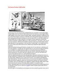 1 torno colchester student 1800 lathe pdf tools