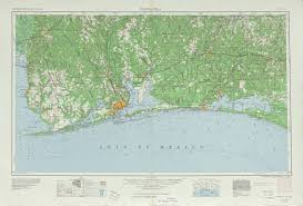 Pensacola Florida Map by