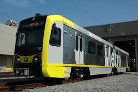 new light rail projects l a metro rolls out first revenue service for kinkisharyo light
