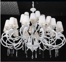 Chandelier With White Shade Awesome Large White Chandelier Large Chandelier Shades Chandeliers
