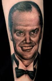 tattoo portraits on arm black u0026 grey dark horror portraits realistic realism tattoo