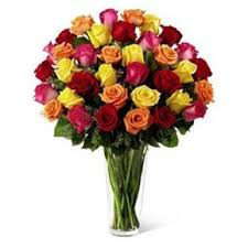 multicolored roses multicolored roses new york fresh flowers