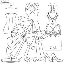 302 best fashion coloring pages images on pinterest coloring