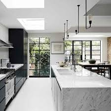marble island kitchen best 25 marble island ideas on