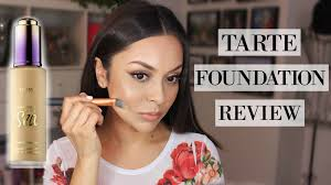 tarte light medium neutral tarte rainforest of the sea foundation review trinaduhra youtube