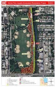 Chicago River Map by Chicago District U003e Missions U003e Civil Works Projects U003e Horner Park